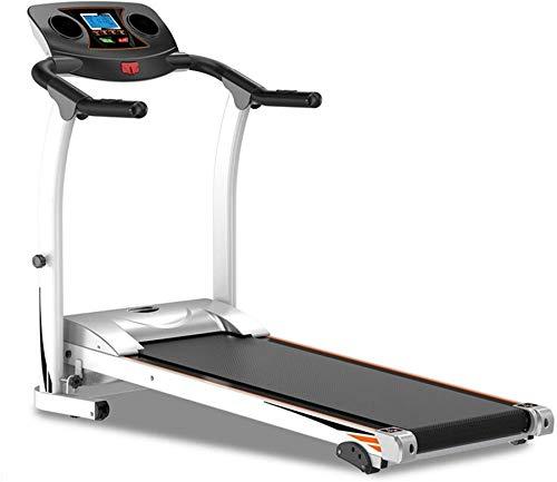 Wghz Ttreadmills, Cinta de Correr, Marco de Acero Plegable Ttreadmills 1.5HP, inclinación Ajustable, Ejercicio físico, Cardio, Jogging con Sistema de Emergencia, Agarre Manual, Equipo de Gimnasio