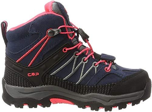 CMP Rigel Mid Wp Unisex-Kinder Trekking-& Wanderschuhe, Grau (Antracite-Red Fluo), 32 EU