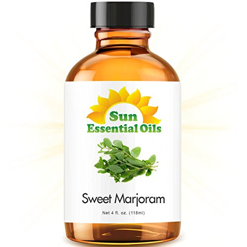 Sweet Marjoram Essential Oil (Huge 4oz Bottle) Bulk Sweet Marjoram Oil - 4 Ounce
