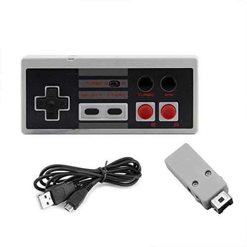 OSTENT Wiederaufladbare Wireless Controller Gamepad für Nintendo NES Mini Klassische Edition Famicom Mini-Konsole