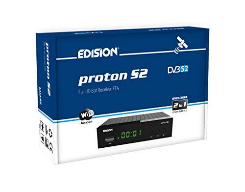 EDISION PROTON S2, DVB-S2 Receptor de...