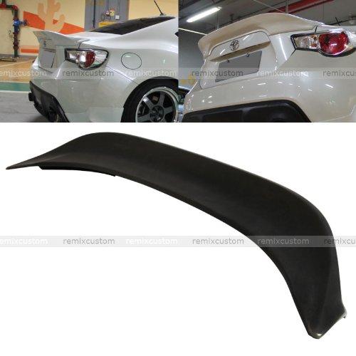 Remix Custom Trunk Spoiler for 2013 2014 2015 2016 Scion FRS/Subaru BRZ TR-D Style Rear Trunk PU Spoiler Wing 14 15