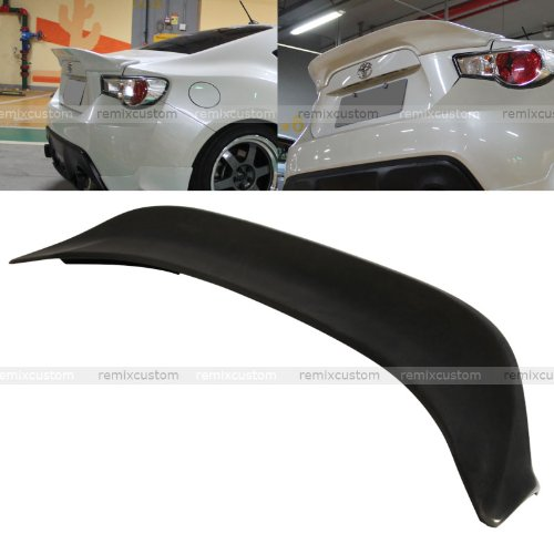 Remix Custom Trunk Spoiler for 2013 2014 2015 2016 Scion FRS/Subaru BRZ TR-D Style Rear Trunk PU Spoiler Wing 14 15