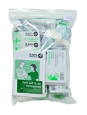 St John Ambulance BS 8599 Compliant Workplace First Aid Kit Refill from St John Ambulance