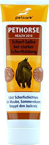 Schorf und Wundsalbe für das Pferd - löst Krusten und Schorfbildung (75 ml) - petHorse Health 2016