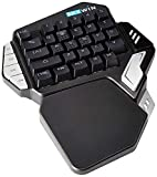 Skywin Programmable Gaming Keypad - Ergonomic One Handed RGB Backlit...
