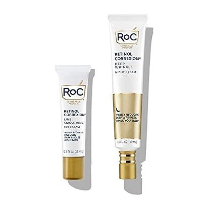 Roc Retinol Correxion Deep Wrinkle Repair Night Cream - 1 Kit by