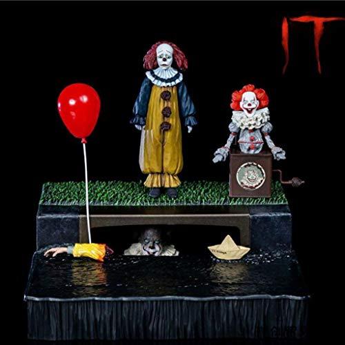 CQ TI Pennywise (galería) La Figura de acción de la película de la Obra Maestra Figura Coleccionable de Terror de Serie Movie Toys