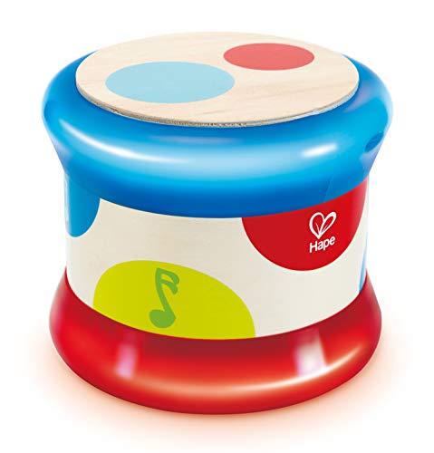 Hape E0333 - Tambour de bébé en Bois et électronique