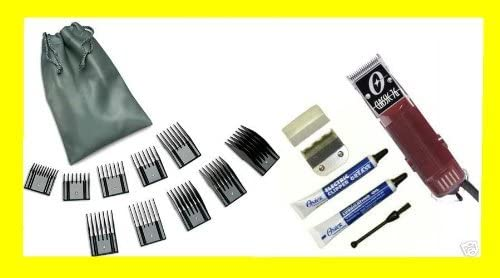 2021 Oster Classic 76 Professional Clipper W/2 high quality Blades And Free 2021 Original Oster 10 Pc Guide Comb Set online