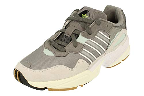 Adidas Yung 96 Hombre Running Trainers Sneakers (UK 8 US 8.5 EU 42, Grey White G26337)