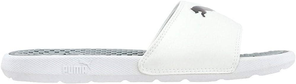 Puma Womens Cool Cat Sport Pool Slide Sandals Sandals Casual - White