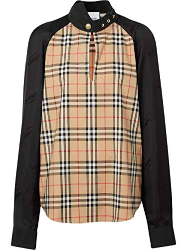 BURBERRY Luxury Fashion Damen 8024153 Beige Bluse |