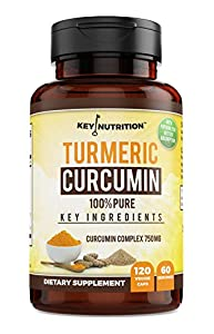 This 100% pure supplement delivers all-natural anti-inflammatories and antioxidants proven to effectively relieve joint and other pain, arthritis and more, and formulated for fast absorption Each capsule includes a custom Turmeric Curcumin Complex (7...