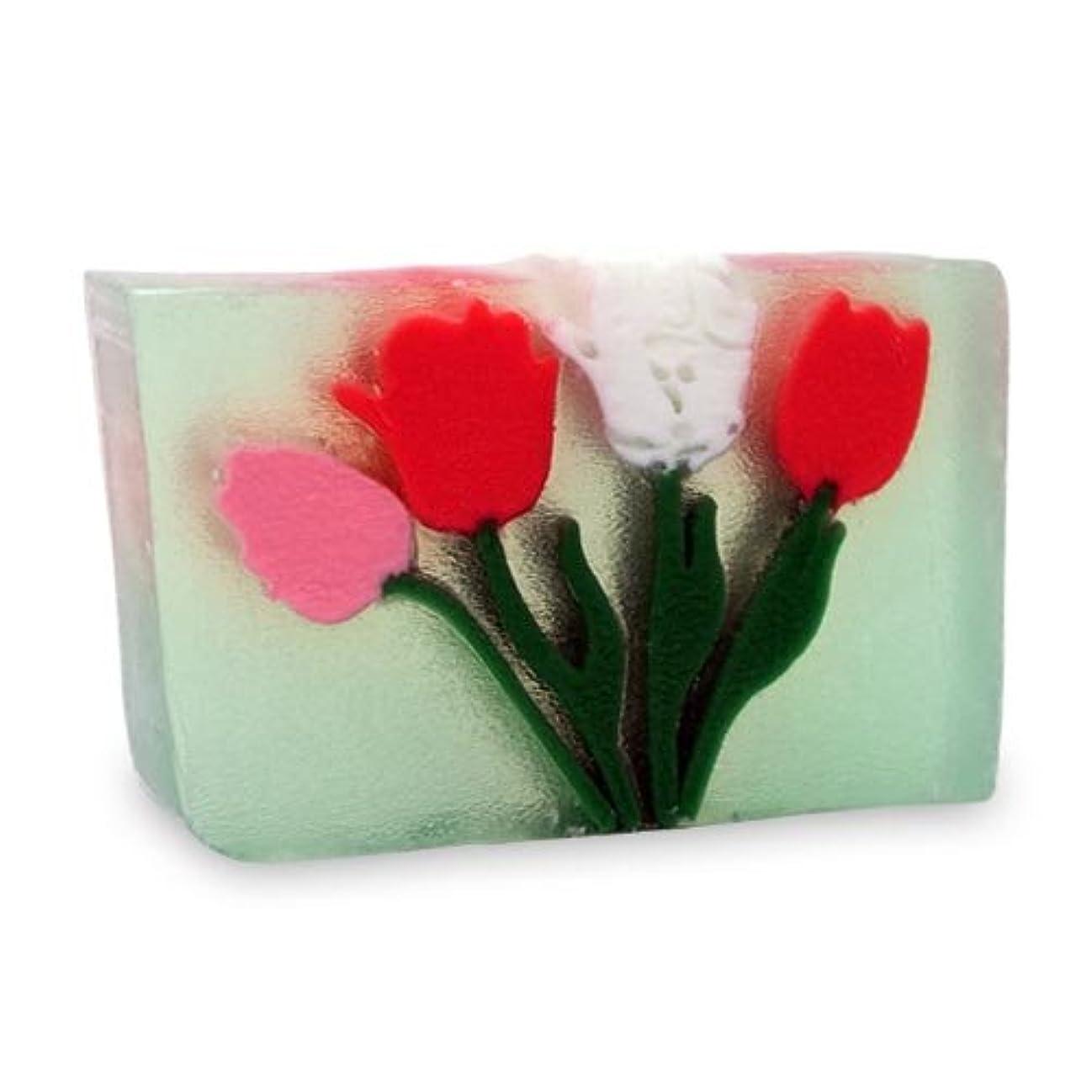 腰賛辞枕プライモールエレメンツ アロマティック ソープ チューリップ 180g 植物性 ナチュラル 石鹸 無添加