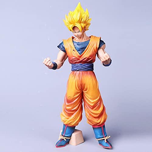 LXYY 30Cm Dragon Ball Goku Super Saiyan Figura De Acción Dragon Ball Warrior Goku Figura PVC Modelo Muñeca Juguete Coleccionable
