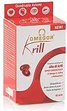 OMEGOR Krill - 250mg di EPA e DHA, 672 mg di fosfolipidi, 82mg di colina e 100mcg di astaxantina | 60 capsule molli