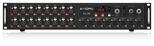Best Prices! Midas 16 Input, 8 Output Stage Box with 16 MIDAS Microphone Preamplifiers, ULTRANET and...