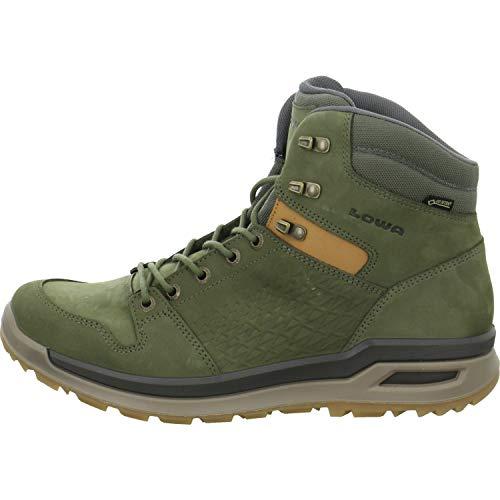 Lowa M Locarno GTX Mid Grün, Herren Gore-Tex Hiking- und Approachschuh, Größe EU 45 - Farbe Forest
