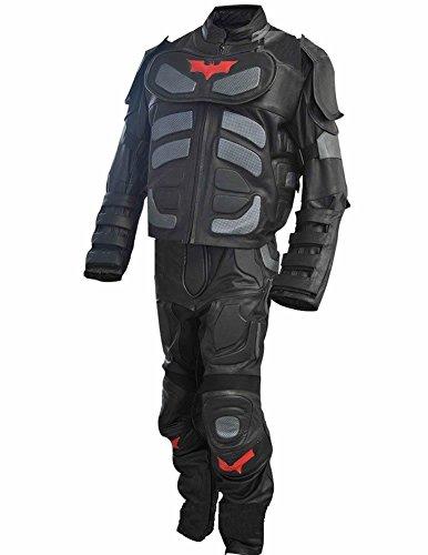 Classyak - Costume da Cavaliere in Vera Pelle, da Uomo, Taglia XS-5XL