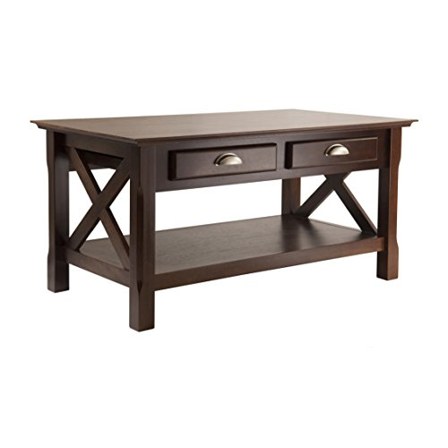 Winsome Wood Xola Occasional Table, Cappuccino finish