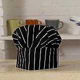 Wijider Gorro Cocinero 1Pc Cooking Ajustable Chef Hat Men Kitchen Baker Elastic...