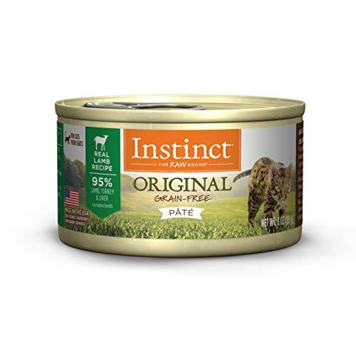 Instinct Grain Free Lamb Pate Wet Cat Food