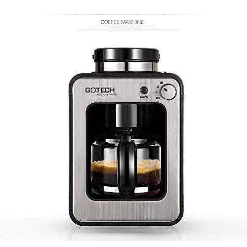 YPJKHL Halbautomatische Espressomaschine, 15 Bar Dampfdruck, Geeignet für Milchkaffeemaschinen, Frisch gemahlene Kaffeeschaummaschinen
