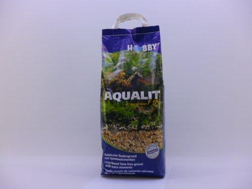 Hobby Aqualit, Bodengrund, Papierbeutel 8 kg Kies, Pflege,
