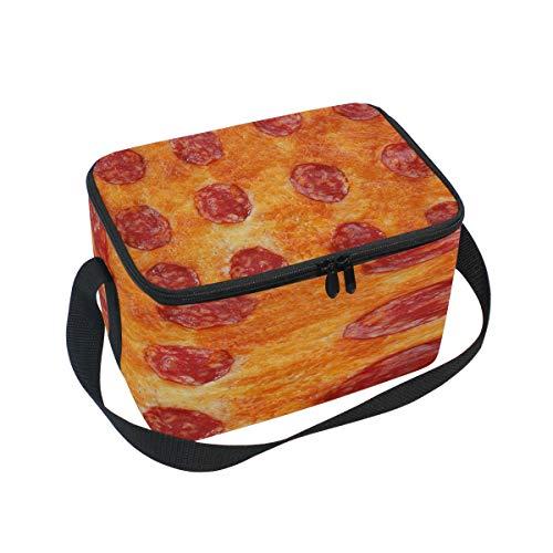 Use7 Delicious Pizza Food - Bolsa térmica para el almuerzo, para picnic, escuela, mujeres, hombres y niños