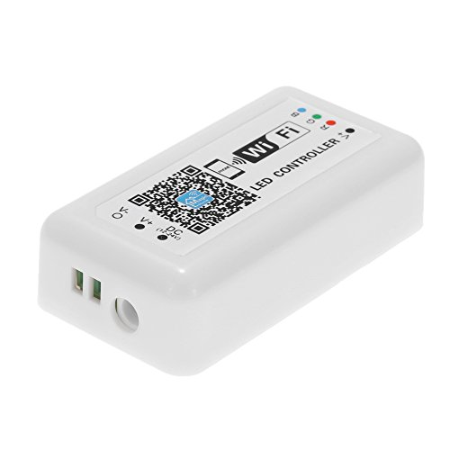 12V-24V LED RGB WiFi Controller for Strip Light 5050/3538 RGB LED Light/Bulb 3 Channels Smartphone for iOS/for Android APP Control with Music/Timing Function