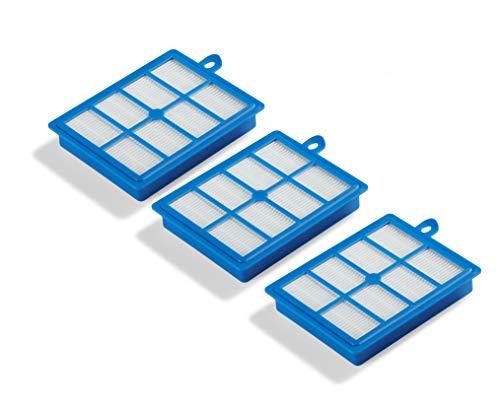 Supremery 3X Filter Set HEPA13 geeignet für Philips Staubsauger, Alternative für Philips FC8038/01 Ersatzfilter, Ersatzteil Filter Zubehör
