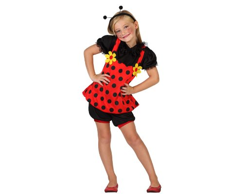 Atosa - 23895 - Costume - Déguisement Coccinelle - Fille - Taille 3
