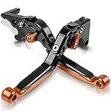 Para SU&ZUKI V-S&trom 250 650 1000 DL650 DL1000 DL250 2012-2018 Palancas De Embrague De Freno Extensibles Plegables Ajustables Para Motocicleta Embrague Freno Palancas Pivote (Color : C)