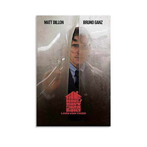 The House That Jack Built Movie Poster Decorative Painting Canvas Wall Art Living Room Posters Bedroom Painting 08x12inch(20x30cm)