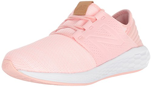 New Balance Kid's Fresh Foam Cruz V2 Running Shoe, Himalayan Pink, 7.5 W US Toddler