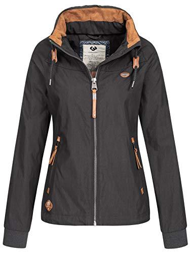 Ragwear Jacke Damen APOLI 2011-60003 Schwarz 1010 Black, Größe:XL
