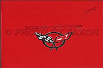 2002 Chevy Corvette Owner`s Manual Original