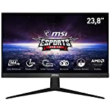 MSI Optix G241 60cm (23,8') FHD IPS Gaming-Monitor DP/HDMI FreeSync 144Hz 1ms, G241-013, Black