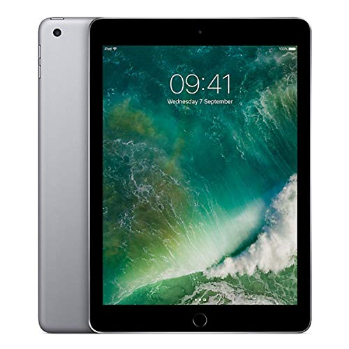 Apple iPad 9.7 (2017) 32GB Wi-Fi - Space Grey (Renewed)