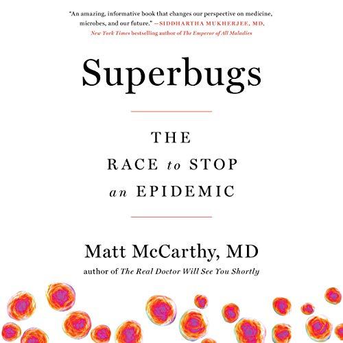 Superbugs audiobook cover art