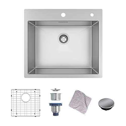 22 X 25 Stainless Steel Undermount Kitchen Sink