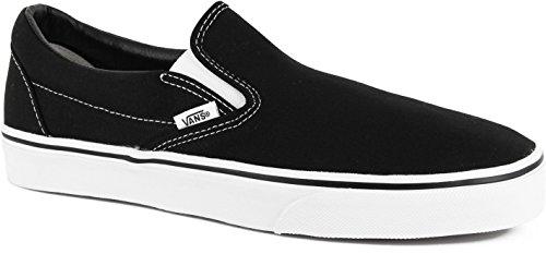 Vans Classic Slip-On Skate Shoe Size 10 Black/White