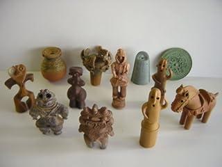 歴史ミュージアム 埴輪と土偶 + 土器 青銅器 フル12種 武人 :全12種 1 銅鐸 NEW! 2 銅鏡(三角縁神獣鏡) NEW