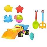 SM SunniMix 8 Stück Kinder Strand Sandspielzeug Set