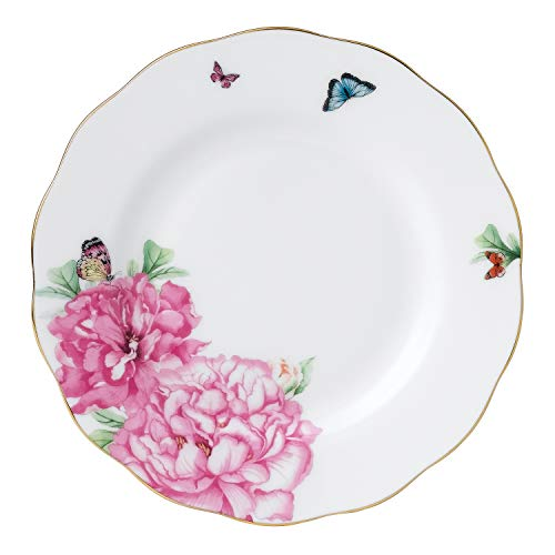 Royal Albert Friendship Collection Bread & Butter Plate, 6', Mostly White with Multicolored Print