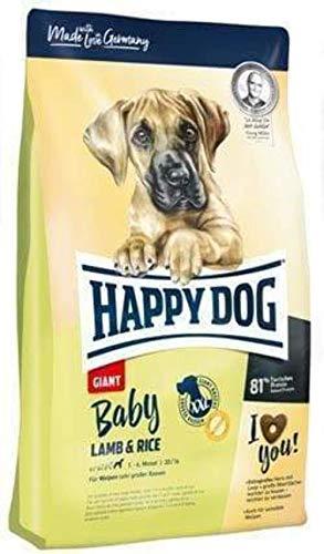 Happy Dog 60594 - Supreme Baby Giant Lamb & Rice - Welpen-Alleinfutter für große Rassen - 15 kg Inhalt