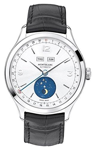 Montblanc Reloj Analógico para Hombre de Cuarzo con Correa en Cuero 112539