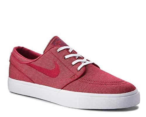 Nike Zoom Stefan Janoski Cnvs, Zapatillas para Hombre, Multicolor (Red Crush/Red Crush/White 001), 41 EU