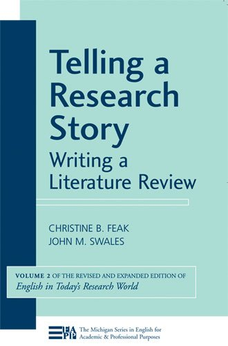 Telling a Research Story: Writing a Literature Review...